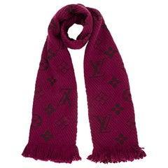 Louis Vuitton Cherry Logomania Wool & Silk Jacquard Scarf