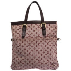 Louis Vuitton Cherry Monogram Mini Lin Francoise Bag