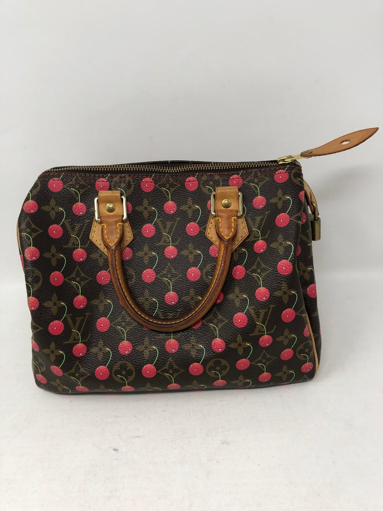 78e11644cc47b Louis Vuitton Cherry Speedy 25 For Sale at 1stdibs