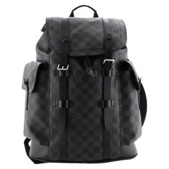 Louis Vuitton Christopher Backpack Damier Graphite PM