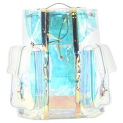 Louis Vuitton Christopher Backpack Limited Edition Monogram Prism PVC GM