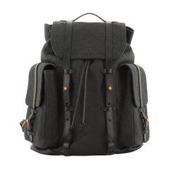 Louis Vuitton Christopher Backpack Monogram Taurillon GM