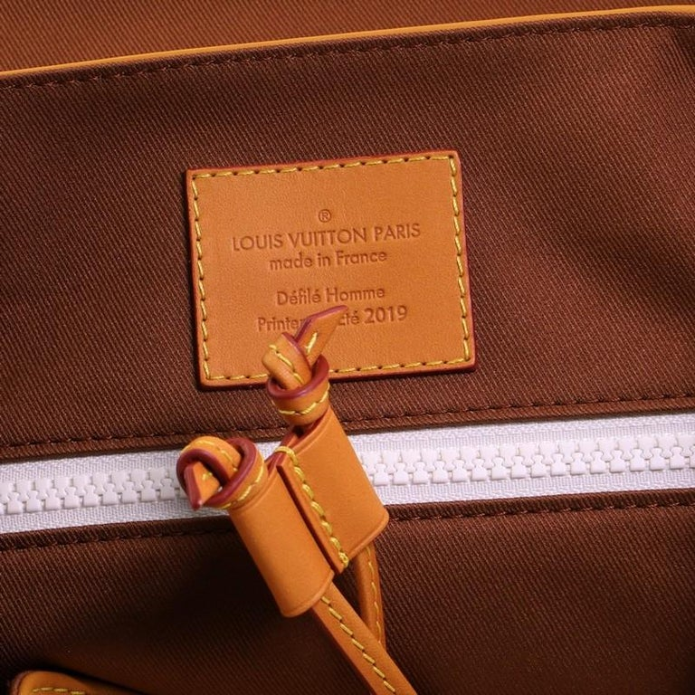 Louis Vuitton Christopher Backpack Vachetta Leather GM For Sale 2