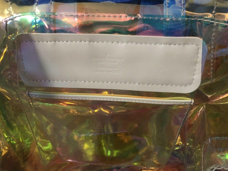 Louis Vuitton Christopher GM Prism Iridescent Backpack Limited Edition  NEW In New Condition In Hollywood, FL