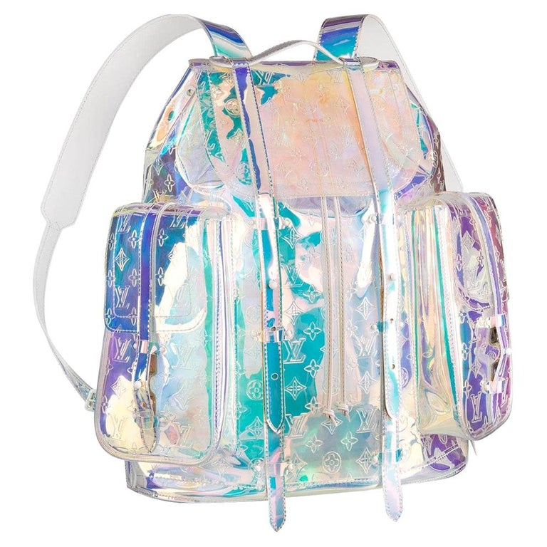 Louis Vuitton Christopher GM Prism Iridescent Backpack Limited Edition  NEW