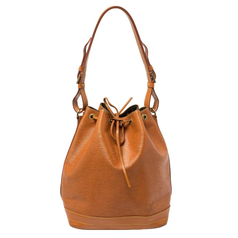 Louis Vuitton Cipango Gold Epi Leather Large Noe Bag