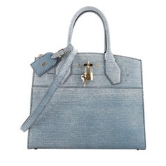 Louis Vuitton City Steamer Handbag Epi Leather MM