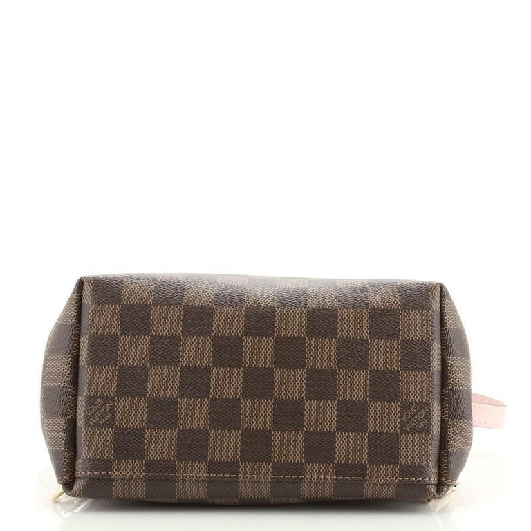 Louis Vuitton Clapton Backpack Damier and Leather In Good Condition For Sale In New York, NY