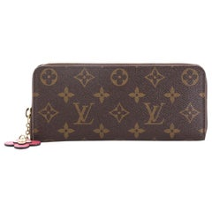 Louis Vuitton Clemence Wallet Limited Edition Bloom Flower Monogram Canvas