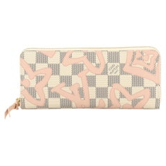Louis Vuitton Clemence Wallet Limited Edition Damier Tahitienne