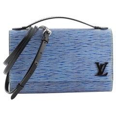 Louis Vuitton Clery Handbag Epi Leather