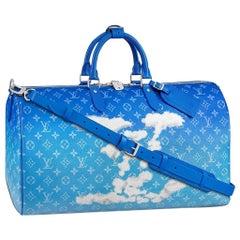 Louis Vuitton Clouds  Keepall Bandoulière 50  New
