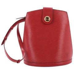 Louis Vuitton Cluny Shoulder Bag Epi Leather