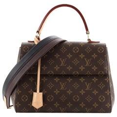 Louis Vuitton Cluny Top Handle Bag Monogram Canvas MM