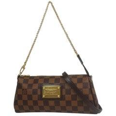 LOUIS VUITTON clutch bag Eva Womens shoulder bag N55213 Damier ebene