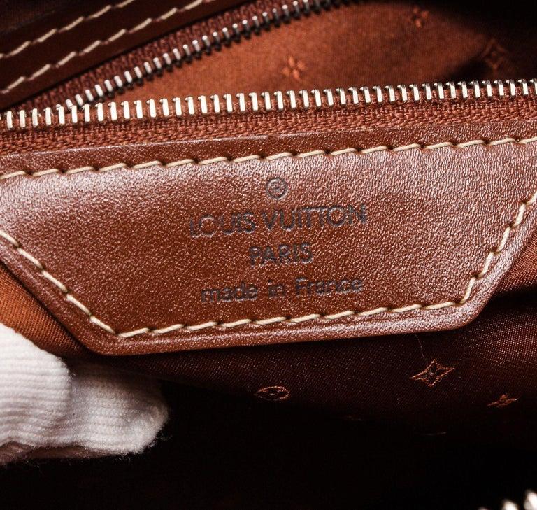 Louis Vuitton Cognac Suhali Leather Lockit PM Bag For Sale 2