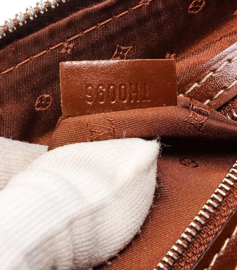Louis Vuitton Cognac Suhali Leather Lockit PM Bag For Sale 3
