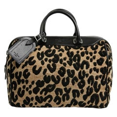 LOUIS VUITTON Collector Stephen Sprouse Leopard Speedy Bag