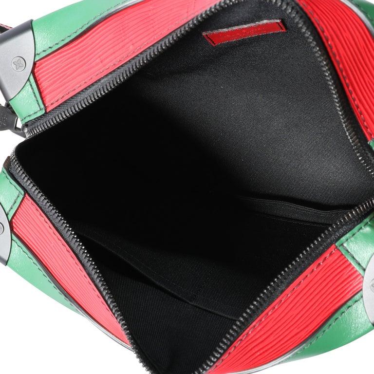 Louis Vuitton Color Block Epi Leather Soft Trunk Bag For Sale 1