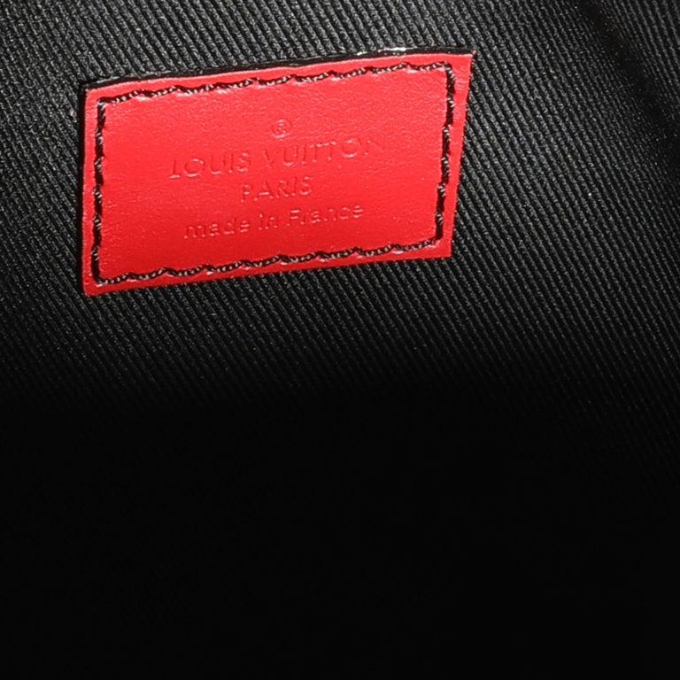 Louis Vuitton Color Block Epi Leather Soft Trunk Bag For Sale 2