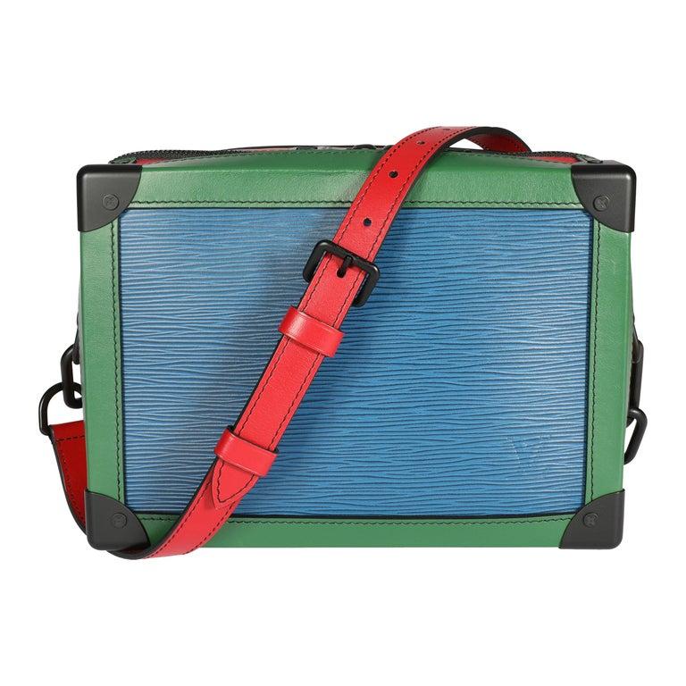 Louis Vuitton Color Block Epi Leather Soft Trunk Bag For Sale