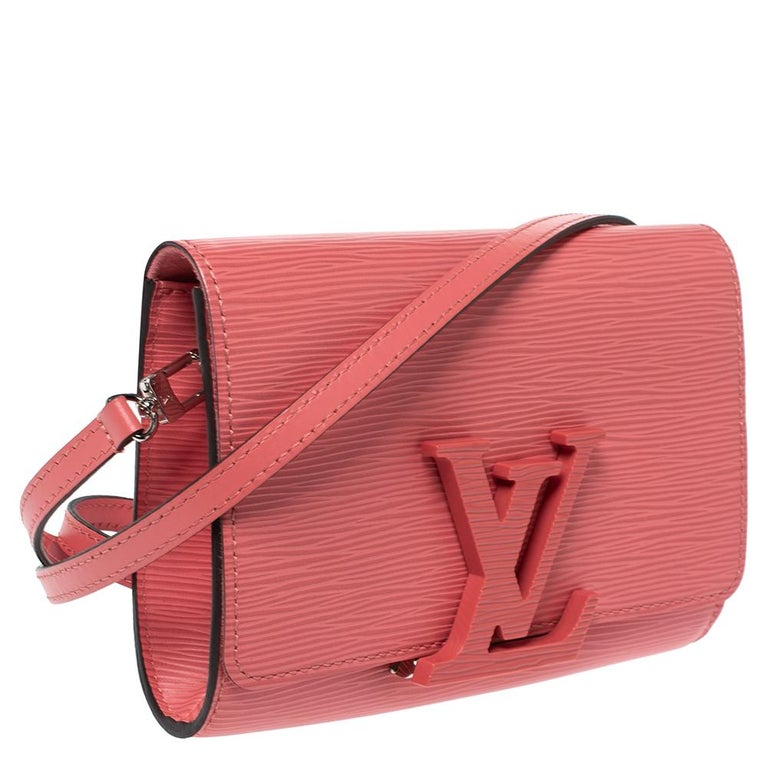Women's Louis Vuitton Coral Epi Leather Louise PM Bag For Sale
