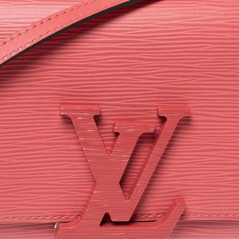 Louis Vuitton Coral Epi Leather Louise PM Bag For Sale 1