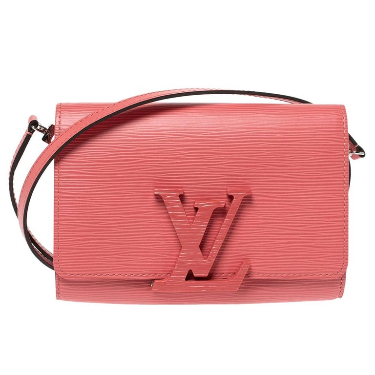 Louis Vuitton Coral Epi Leather Louise PM Bag For Sale