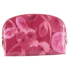 Louis Vuitton  Cosmetic Case Limited Edition Monogram Vernis Ikat