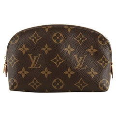 Louis Vuitton Cosmetic Pouch Monogram Canvas