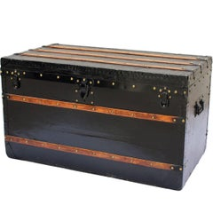 Louis Vuitton Courier Trunk in Black, circa 1880-1890