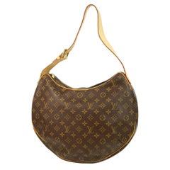 LOUIS VUITTON Croissant GM Womens shoulder bag M51511 brown