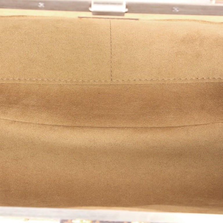 Louis Vuitton Crown Frame Tote Limited Edition Time Trunk Monogram Canvas  For Sale 1 0b4bd5c307683