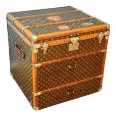 Louis Vuitton Cube Steamer Trunk-Louis Vuitton Cube Trunk-Louis Vuitton Trunk