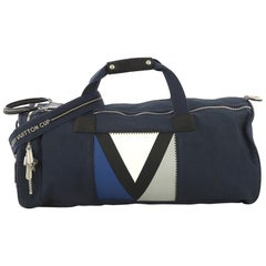 Louis Vuitton Cup Spinnaker Bag Rubber Coated Canvas