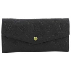 Louis Vuitton Curieuse Wallet Monogram Empreinte Leather