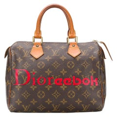 Louis Vuitton Customized 'Dioreebok' Monogram Speedy Bag