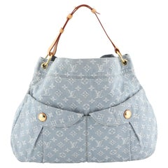 Louis Vuitton Daily Handbag Denim GM