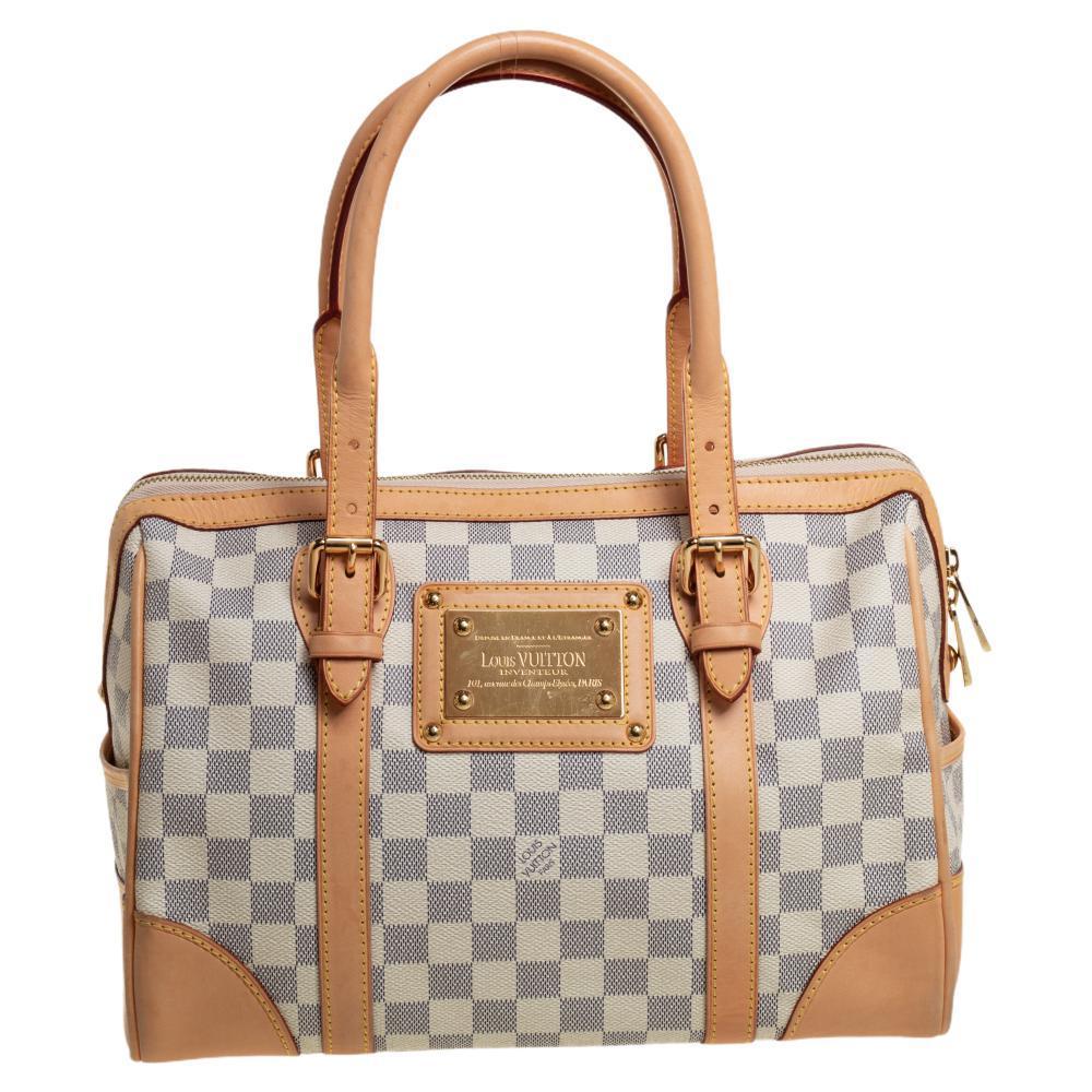Louis Vuitton Damier Azur Canvas Berkeley Bag