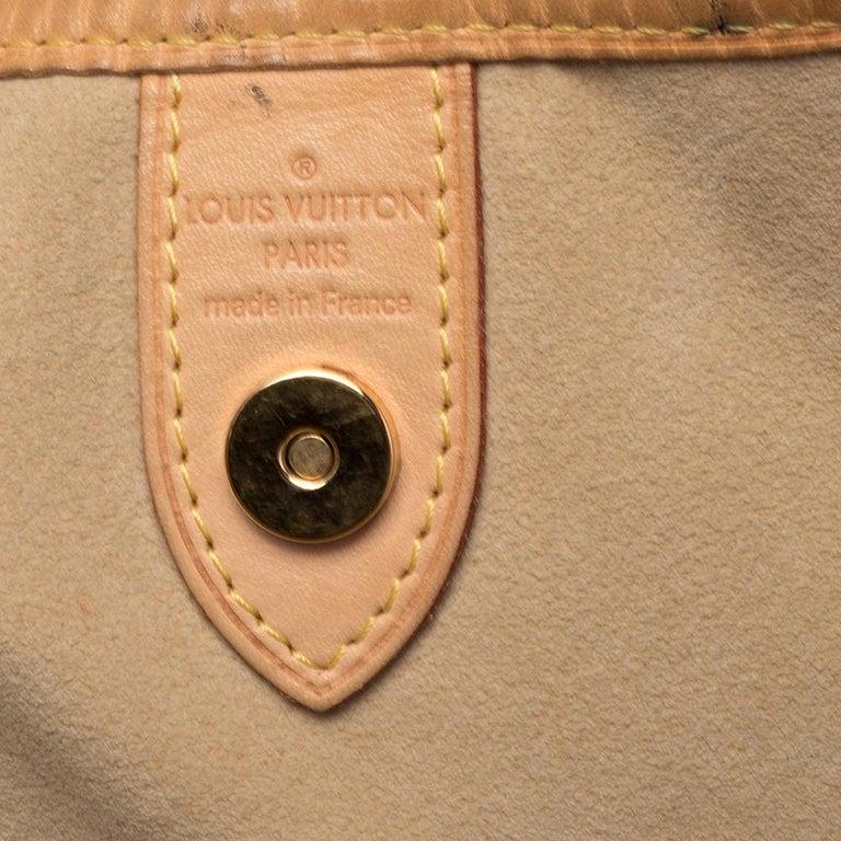Louis Vuitton Damier Azur Canvas Galliera PM bag For Sale 5
