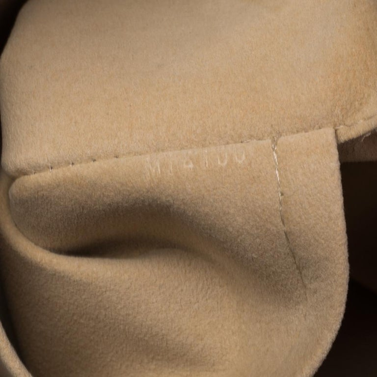 Louis Vuitton Damier Azur Canvas Galliera PM bag For Sale 7