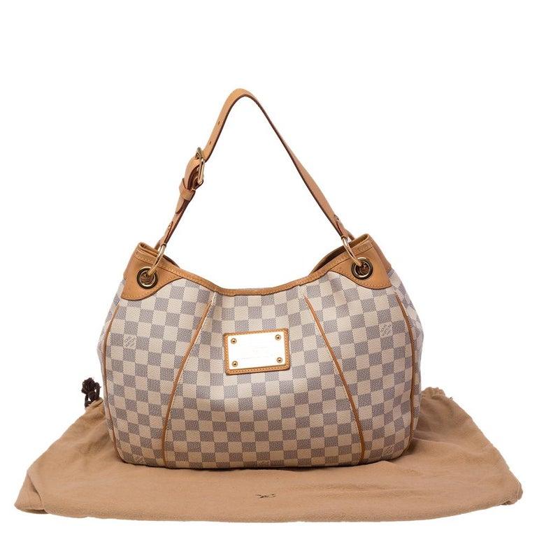 Louis Vuitton Damier Azur Canvas Galliera PM bag For Sale 8