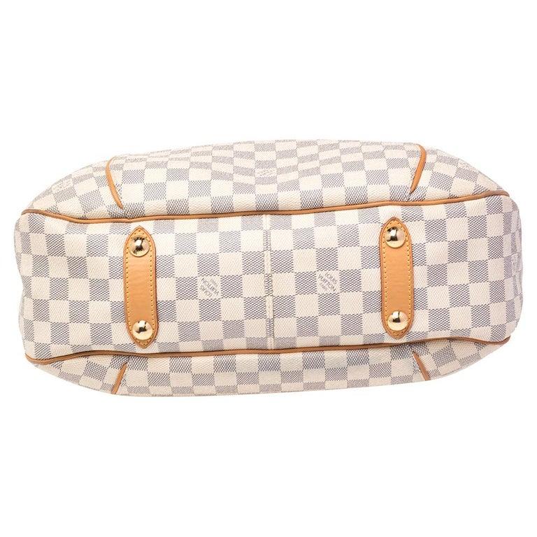 Women's Louis Vuitton Damier Azur Canvas Galliera PM bag For Sale