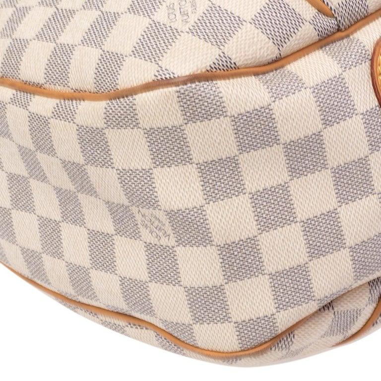 Louis Vuitton Damier Azur Canvas Galliera PM bag For Sale 1