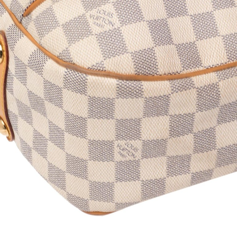 Louis Vuitton Damier Azur Canvas Galliera PM bag For Sale 2