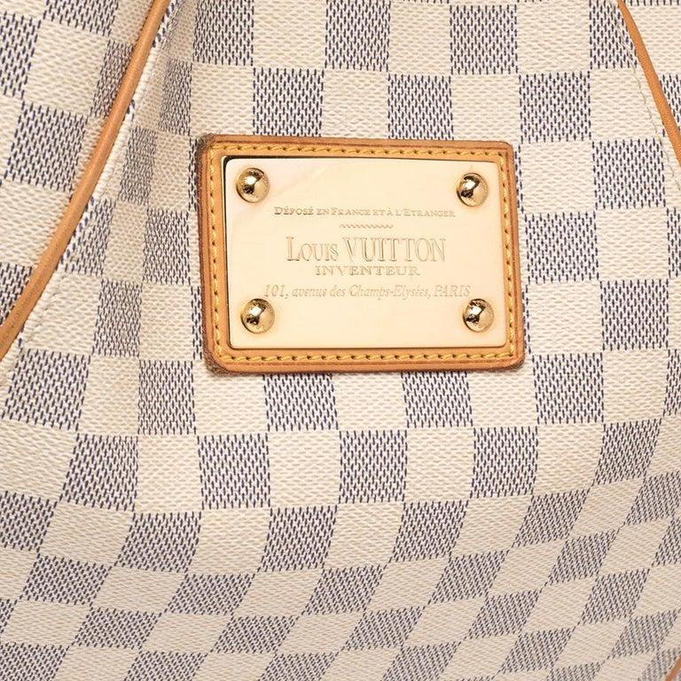 Louis Vuitton Damier Azur Canvas Galliera PM bag For Sale 3