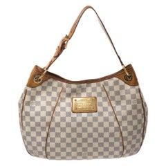 Louis Vuitton Damier Azur Canvas Galliera PM Bag