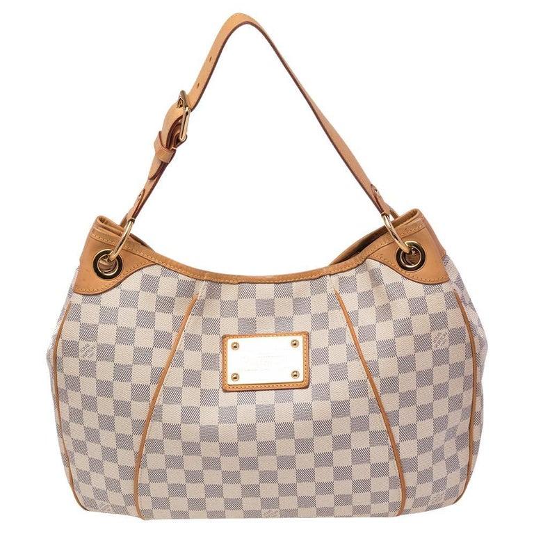 Louis Vuitton Damier Azur Canvas Galliera PM bag For Sale