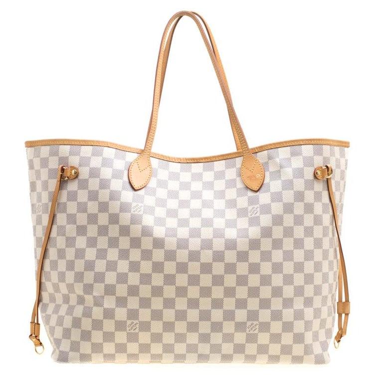 Louis Vuitton Damier Azur Canvas Neverfull GM Bag at 1stdibs 454207bdf9323