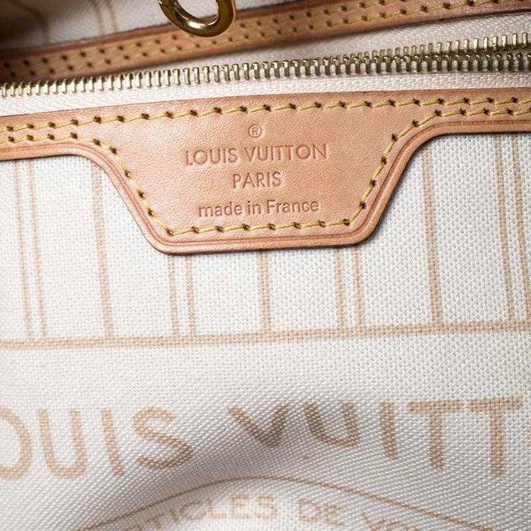 Louis Vuitton Damier Azur Canvas Neverfull PM Bag 6